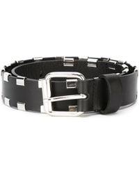 Diesel Black Gold - Studded Belt - Lyst