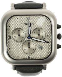 Orolog By Jaime Hayon - Square Analog Water Resistant Watch - Lyst