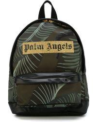 Palm Angels - Logo Print Backpack - Lyst