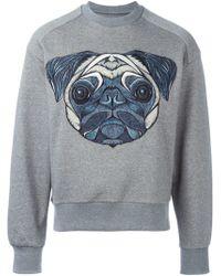 Juun.J - Embroidered Dog Sweatshirt - Lyst