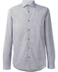 MICHAEL Michael Kors - Fine Print Shirt - Lyst
