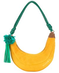MUVEIL | - Banana Motif Shoulder Bag - Women - Calf Leather - One Size | Lyst