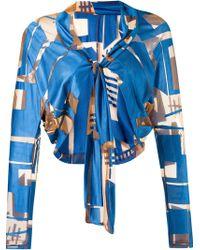 Fernanda Yamamoto - Lace Up Bolero Jacket - Lyst