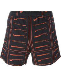 JW Anderson - Printed Swim Shorts - Lyst