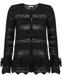 Cecilia Prado - Open Knit Tricot Coat - Lyst