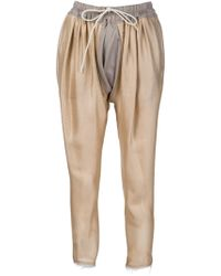 Vivienne Westwood Gold Label - Drawstring Sarouel Trousers - Lyst