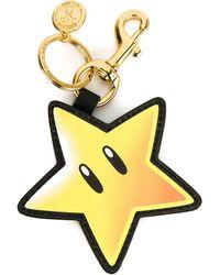 Moschino - Star Keyring - Lyst