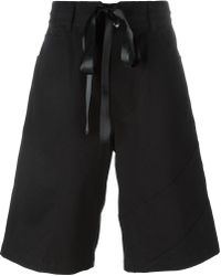 Nicopanda - Patchwork Denim Shorts - Lyst