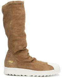 adidas Originals - Rick Owens X 'superstar Ripple' Trainer Boots - Lyst