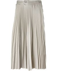 Hood By Air - Pleated Skirt - Lyst