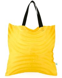 Issey Miyake Cauliflower - Large Pleated Tote - Lyst