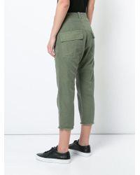 Nili Lotan - Cropped Trousers - Lyst
