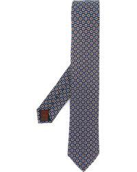 Fashion Clinic - Flower Pattern Tie - Lyst