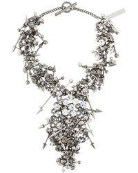 Philipp Plein - Punk Princess Necklace - Lyst