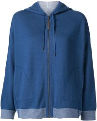 Maison Ullens - Zipped Hoodie - Lyst