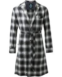 Guild Prime - Checked Coat - Lyst