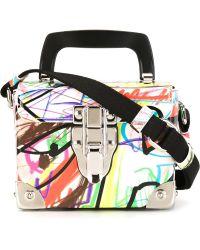 Jeremy Scott - Graffiti Print Box Bag - Lyst