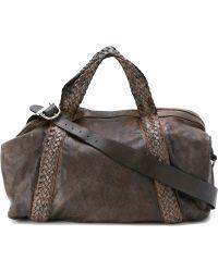 Giorgio Brato - Braided Handles Holdall Bag - Lyst