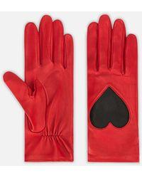 Christopher Kane | Love Heart Leather Gloves | Lyst