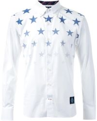 Guild Prime - Star Fade Collared Shirt - Lyst
