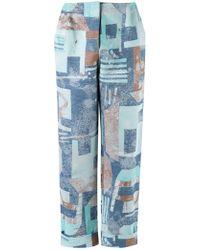 Fernanda Yamamoto - High Waisted Cropped Trousers - Lyst