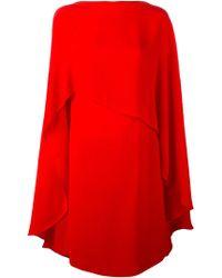 Sybilla - 'poncho Dress' - Lyst