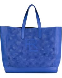 Pink Pony - Perf Easy Perforated Shopper Tote Bag - Lyst