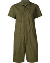 Engineered Garments | Patch Pocket Romper | Lyst