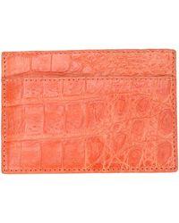 Santiago Gonzalez | Stitched Cardholder | Lyst