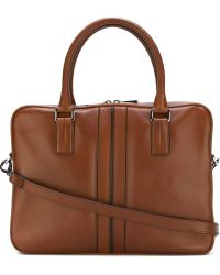 Tod's - Single Zip Briefcase - Lyst