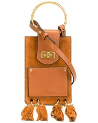 see by chloe bag sale - Chlo�� Small 'jane' Shoulder Bag in Gold (BROWN) - Save 30% | Lyst