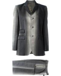 Jean Paul Gaultier - Degradé Print Suit - Lyst