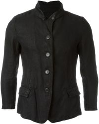 Rundholz - Banded Collar Fitted Jacket - Lyst