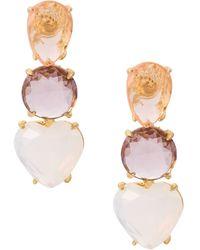Serpui - Embellished Earring - Lyst