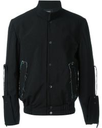Berthold - Stand Up Collar Bomber Jacket - Lyst