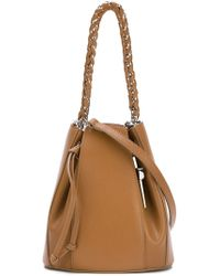 Cesare Paciotti - 'dagger' Bucket Shoulder Bag - Lyst