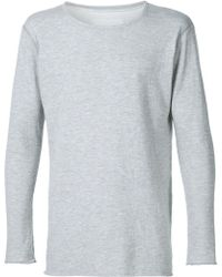 Greg Lauren - Long Sleeve Slim T-shirt - Lyst