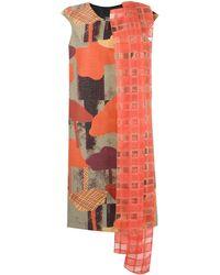 Fernanda Yamamoto - Printed Panelled Dress - Lyst