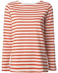 Norse Projects - Inge Striped Sweatshirt - Lyst