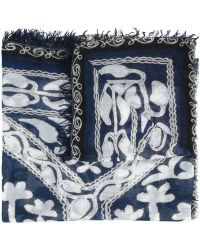 Figue - Blue Suzani Scarf - Lyst