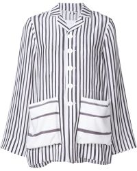 Toogood - Striped Shirt Jacket - Lyst