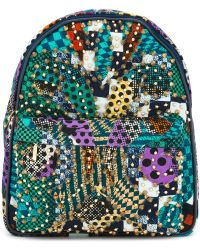 Manish Arora | Gold-tone Studded Backpack | Lyst