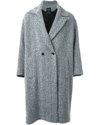 Fad Three - - Double Breasted Coat - Men - Cotton/acrylic/nylon/wool - M - Lyst