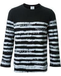Fad Three - - Striped Long Sleeve T-shirt - Men - Cotton - M - Lyst