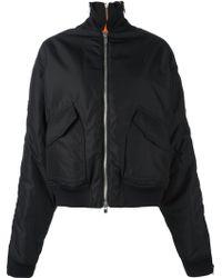 Incarnation - Oversized Cotton Bomber Jacket - Lyst