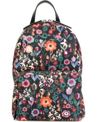 RED Valentino - Floral Print Backpack - Lyst