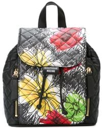 Boutique Moschino - Floral Print Backpack - Lyst