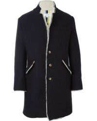 Soulland - 'bart' Woolen Coat - Lyst