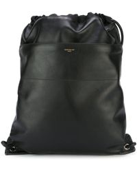 Givenchy - 'paris' Drawstring Backpack - Lyst