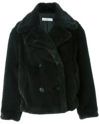 Golden Goose Deluxe Brand - 'kate' Faux Fur Coat - Lyst